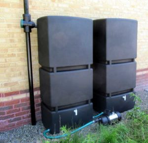 Above Ground Garden Rainwater Harvesting Systems