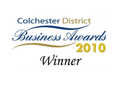 Colchester District Business Award 2010 Winner