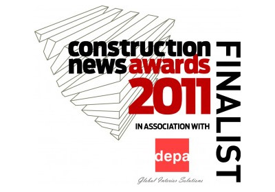 Construction News Awards 2011 Finalist