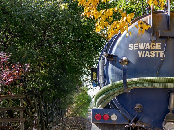 Sewage Treatment System Emptying & Desludging
