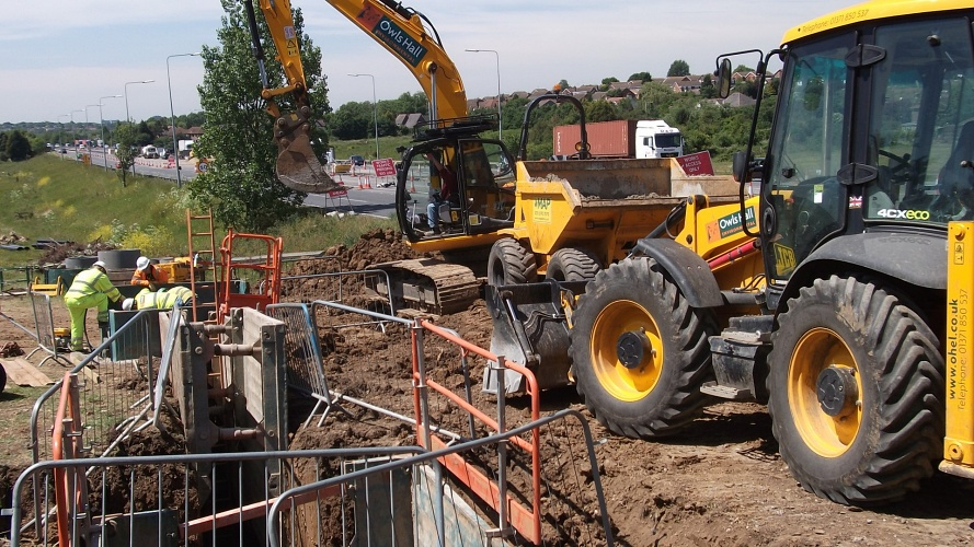 A13/A130 Sadler's Farm junction improvement project