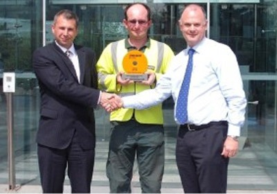 kanska Balfour Beatty Zero Harm award