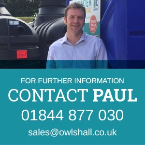 Contact Paul at Owls Hall Environmental